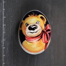 Teddybär mit roter Schleife Bild