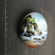 Felsen im Meer Bild