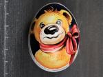 Teddybär mit roter Schleife