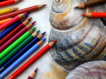 Online-Live-Malen mit Farbstiften